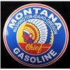 Image 3 : Montana Chief Gasoline Advertising Sign