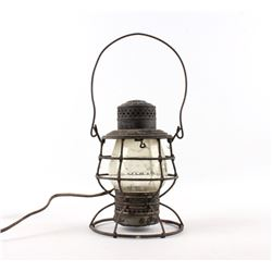 Adams & Westlake WCRR Electric Railway Lantern