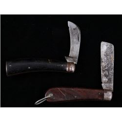 Kutmaster & Sheffield Folding Hoof Knives