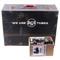 RCA Tubes Box w/ Loose Tube Collection