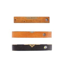 J. Rabone & Preston Brass Torpedo Level Collection