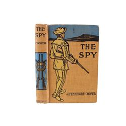 The Spy by J. Fenimore Cooper Hard Cover Book
