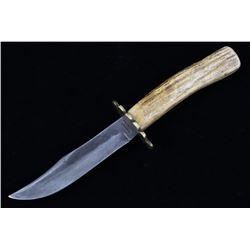 Jean Case Cut Co Antler Handle Clip Point Knife