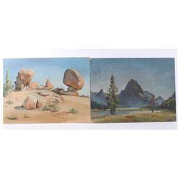 Lily Tolpo Two Medicine 1958, Desert Balanced Rock