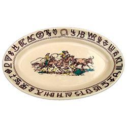Westward Ho Rodeo Large Oval Serving Platter