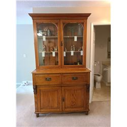 Antique Oak Cabinet C