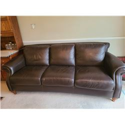 Natuzzi Leather Couch C