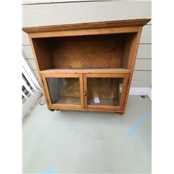 Antique Wall Cabinet C