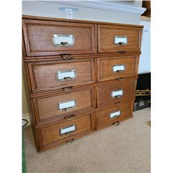 Antique File Cabinet B