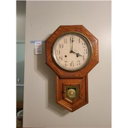 Antique Wall Clock A
