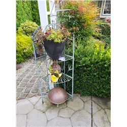 Plant rack and outdoors decor Cat C
