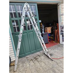 Aluminum ladder Cat A
