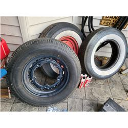 Vintage Tires for classic car C