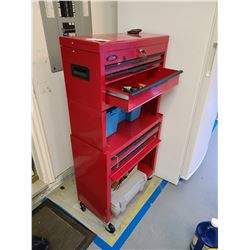 Ball Bearing Rolling  Metal Tool Chest Cat A