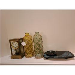 Brass Carriage Clock Cat A