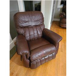 Lazy boy leather recliner Cat C