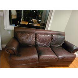 Leather Sofa  Cat C