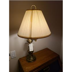 Brass Table Lamp Cat A