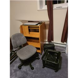 Computer Station & chair