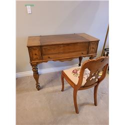 Antique Desk and Chair C