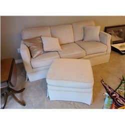 Sofa and Ottoman C