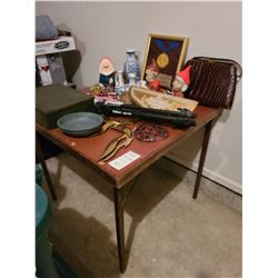 Card Table and Decor Cat A