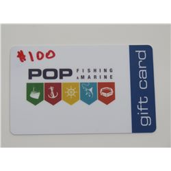 $100 Gift Card for POP Marine