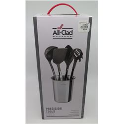 New All-Clad 5-Piece Nonstick Kitchen Precision Tools (Retail $139)