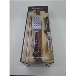 New 4-Piece Wusthof BBQ Tool Set (Retail $119)