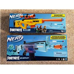 2 New Fortnite Nerf Toy Guns