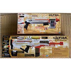 2 New Nerf Toy Guns:  Nerf Ultra Three & Nerf Ultra Pharaoh