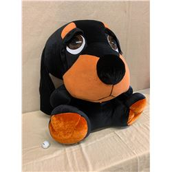 Large Plush Dog w/ Tag (Minor Stitch Repair)