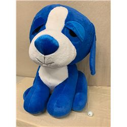 """Giant Blue Plush Dog, Approx. 36"""" Tall (New Condition)"""