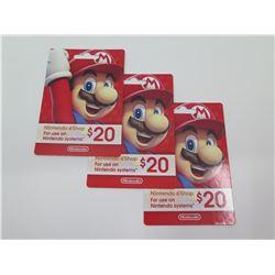 $60 Gift Card for Nintendo E-Shop