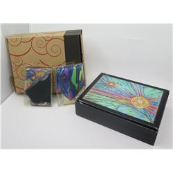 New Blaise Domino Trinket Box & 2 Ties