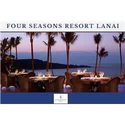 Four Seasons Resort Lanai (Manele Bay) - 4 Nights Accommodations in Garden View Room ($4140 value)