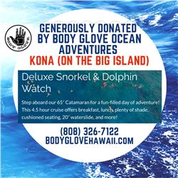Deluxe 4 1/2 Hour Snorkel & Dolphin Watch Cruise for 2 (Kona, Big Island) from Body Glove Ocean Adve
