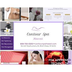 Fat Reduction Treatment from Contour Spa Hawaii (Value $256)