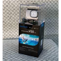 New Akaso V50 Pro Action Camera, Ultra HD Native 4K/30fps Edition (Value $110)
