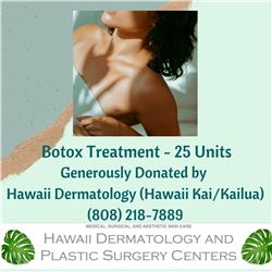 Botox Treatment - 25 Units, $350 Value (Donated by Hawaii Dermatology)