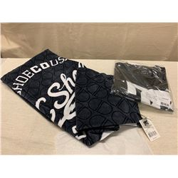 New DC Towel & New Black DC Logo T-Shirt (size XL)