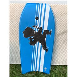 Blue & White Body Board (Lightly Used)