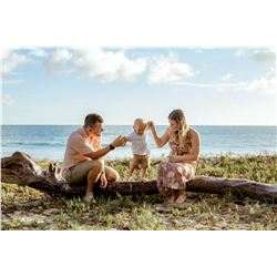 1-Hour Photo Session for Family or Couple, Includes Online Digital Photo Album ($325 Value)
