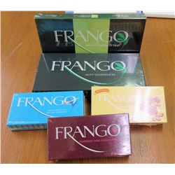 Qty 5 Boxes Frango Chocolates Assorted Varieties