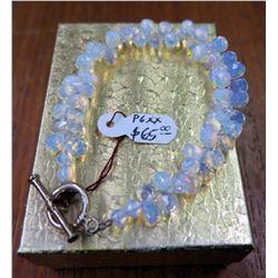 Opaque Beaded Bracelet w/ Metal Clasp (Tag P6XX $65)