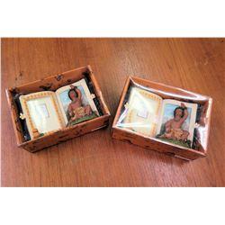 Qty 2 Hawaiian Boy Photo Frames New in Box
