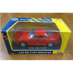 Die Cast Replicas 1:24 1998 Mustang Collectible Car New in Box