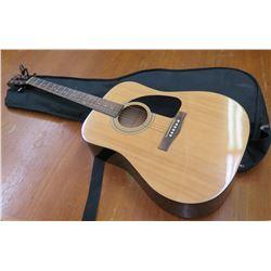 Fender 6 String Acoustic Guitar & Gig Bag