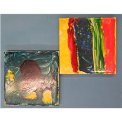 "4""x4"" Hand-painted Decorative Coasters"