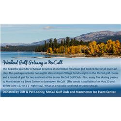Weekend Golf Getaway in McCall